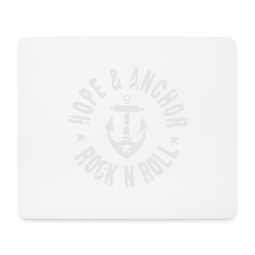 HOPE & ANCHOR-Rock´n´Roll - Mousepad (Querformat)