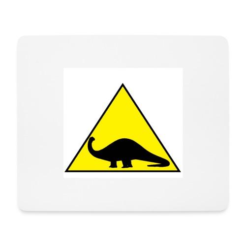 Silhouette Brontosauro2 - Tappetino per mouse (orizzontale)