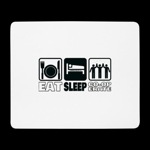 Eat Sleep Co op Mousepad - Mouse Pad (horizontal)