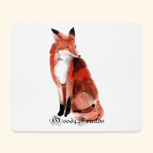 FOX - Tappetino per mouse (orizzontale)