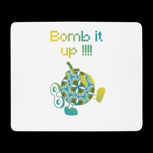 Bomb It Up : Yellow Power !!! - Tapis de souris (format paysage)