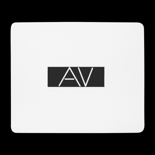 AV White - Mouse Pad (horizontal)