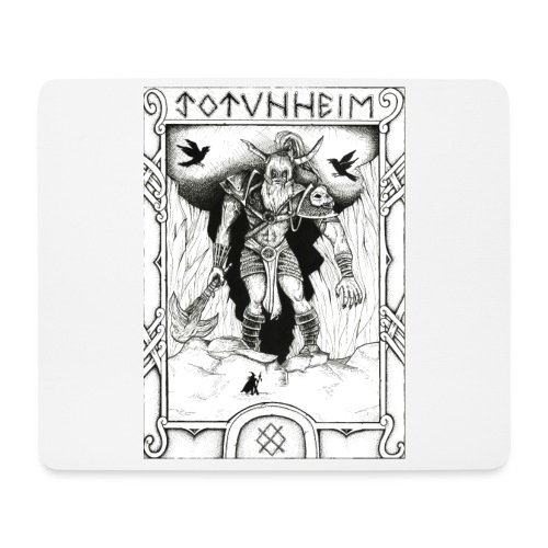 Jotunheimr - Tapis de souris (format paysage)