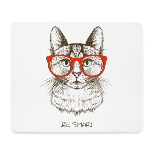 Vorschau: Cat Hipster - Mousepad (Querformat)