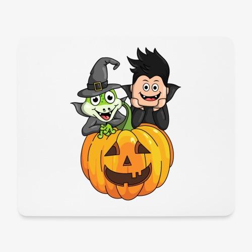 Tomu och Ödlan Halloween - Musmatta (liggande format)