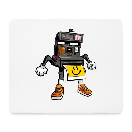 Appareil Polaroid 660 - Tapis de souris (format paysage)
