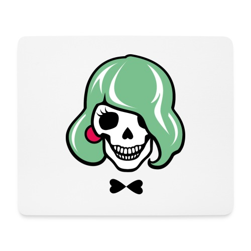 Sexy Totenkopf - Sharon Bone - Mousepad (Querformat)