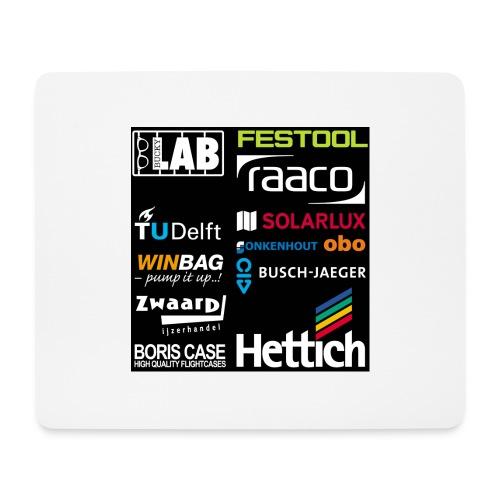 Sponsors back - Mouse Pad (horizontal)