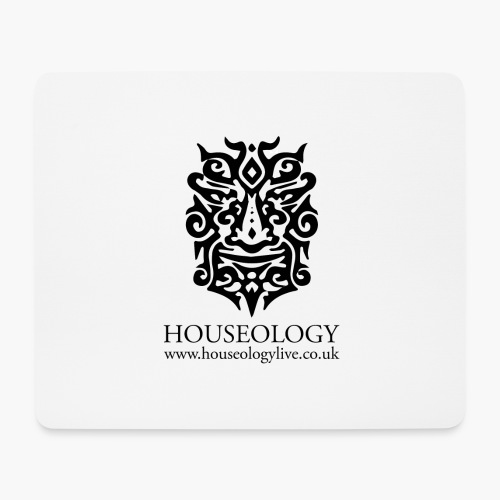 Houseology Official - black - Mouse Pad (horizontal)