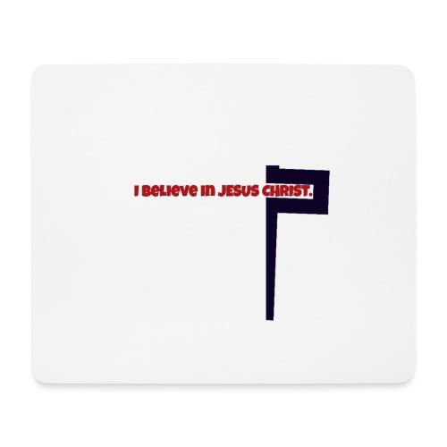 I believe in Jesus!!! - Mousepad (Querformat)