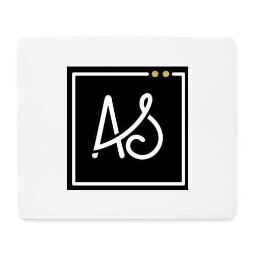 AS-fond-noir - Tapis de souris (format paysage)