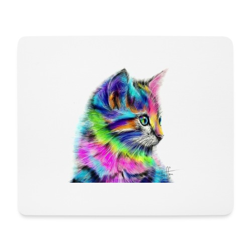 Katzen-Flower - Mousepad (Querformat)