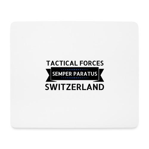 Semper Paratus 2 noir - Tapis de souris (format paysage)