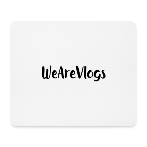 WeAreVlogs - Mouse Pad (horizontal)