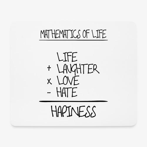 Mathematics of life - Mousepad (Querformat)