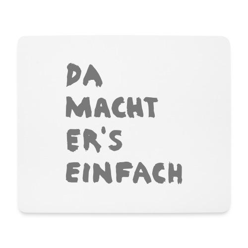Ella Da macht ers einfach - Mousepad (Querformat)