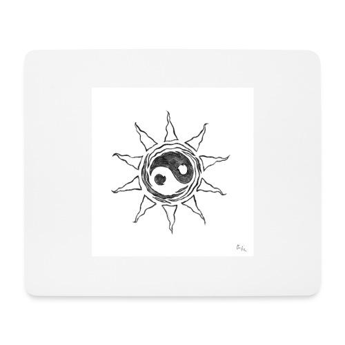 sole yin yang - Tappetino per mouse (orizzontale)