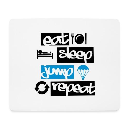 Eat Sleep Jump Repeat - Mousepad (Querformat)