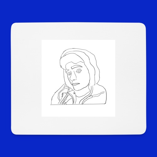 Jonny C cartoon drawing - Mouse Pad (horizontal)