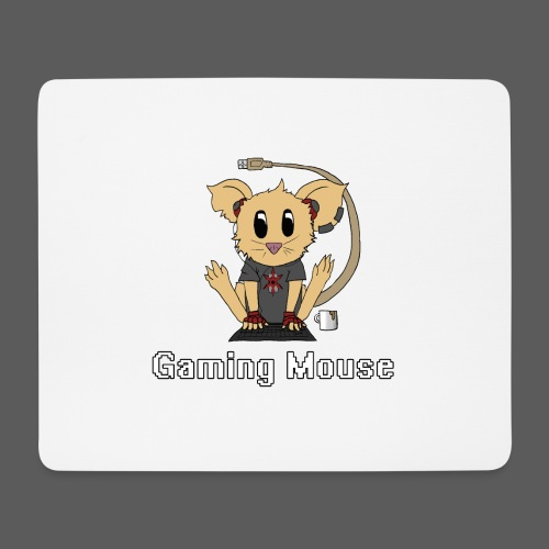 Gaming Mouse - Mousepad (Querformat)