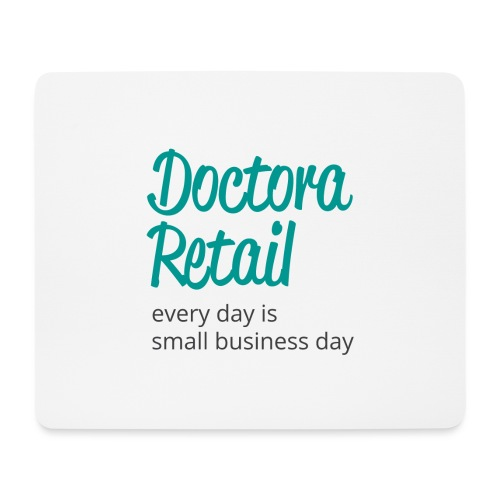 Doctora Retail Every Day - Alfombrilla de ratón (horizontal)