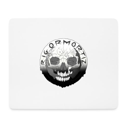 Rigormortiz Black White Design - Mouse Pad (horizontal)