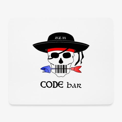 Code Bar couleur - Tapis de souris (format paysage)