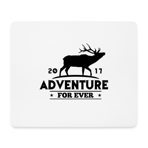 ADVENTURE FOR EVER - CERVO - Tappetino per mouse (orizzontale)