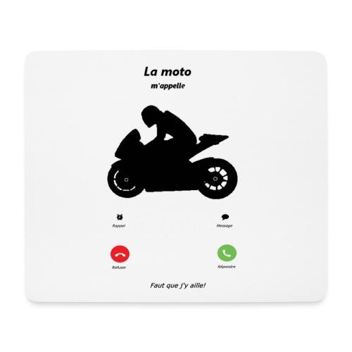 Ma moto m'appelle - Tapis de souris (format paysage)