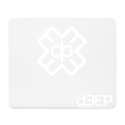 July D3EP Blue Tee - Mouse Pad (horizontal)