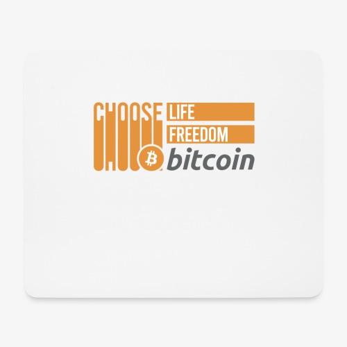 Bitcoin - Tapis de souris (format paysage)