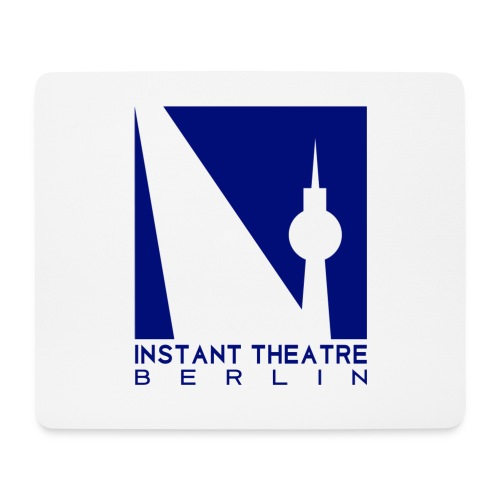 Instant Theater Berlin logo - Mouse Pad (horizontal)