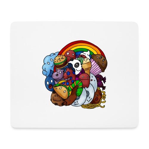 Happy Colors - Mousepad (Querformat)