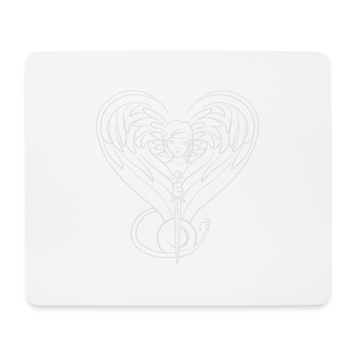 Sphinx valentine white - Mouse Pad (horizontal)