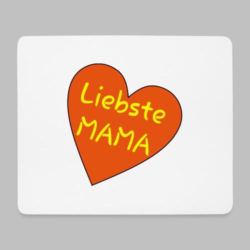 Liebste Mama - Auf Herz ♥ - Mousepad (Querformat)