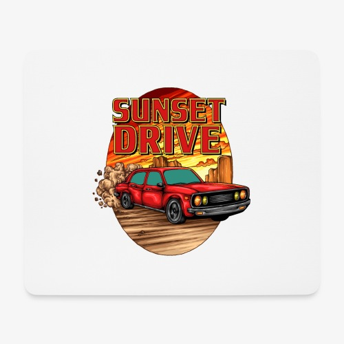 Sunset Drive - Tapis de souris (format paysage)