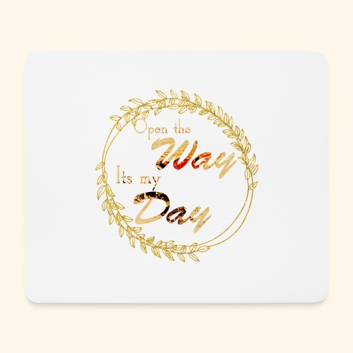 its my day weddingcontest - Mouse Pad (horizontal)