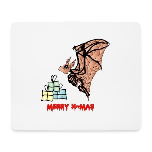 Merry X-MAS - Mousepad (Querformat)