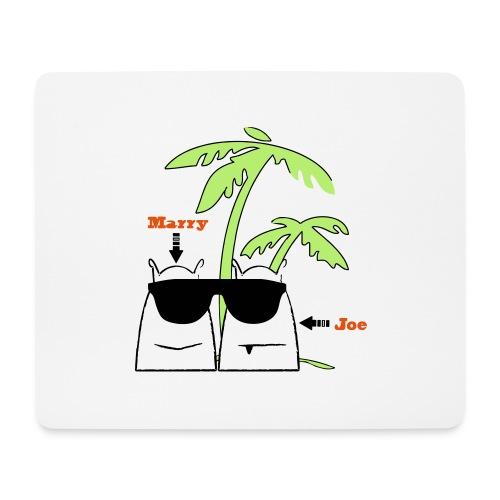 Marry & Joe - Mousepad (Querformat)