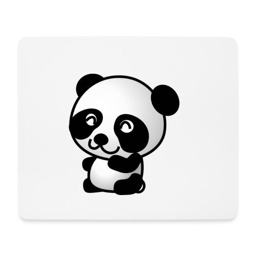 panda hi png - Mouse Pad (horizontal)