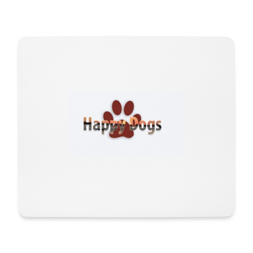 Happy dogs - Mousepad (Querformat)