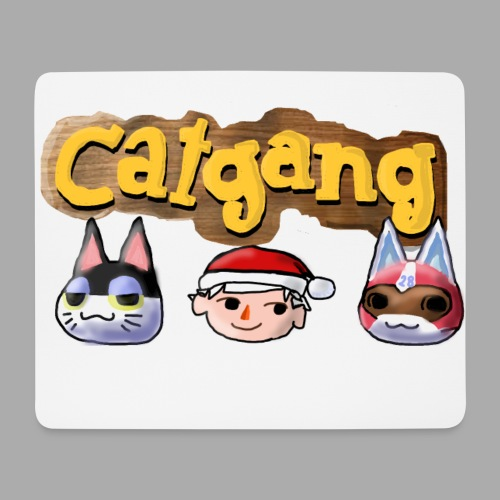 Animal Crossing CatGang - Mousepad (Querformat)