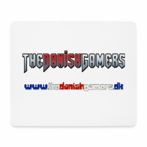TDG Logo Med Hjemmeside - Mousepad (bredformat)