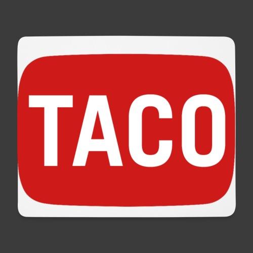 Taco Karsten Youtube Logo 2 - Mousepad (bredformat)