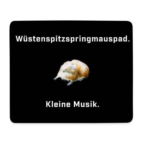 Wüstenspitzspringmäuse Cover Kopie jpg - Mousepad (Querformat)