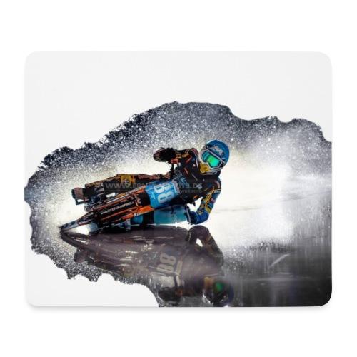 Max Niedermaier auf Spiegeleis - Mousepad (Querformat)
