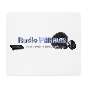 Radio PARALAX Facebook-Logo - Mousepad (Querformat)