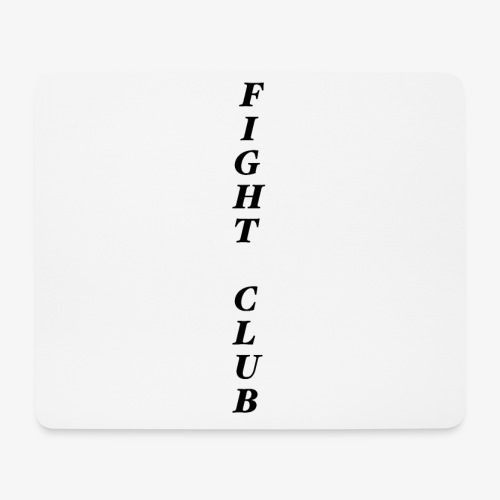 FIGHT CLUB - Mousepad (Querformat)
