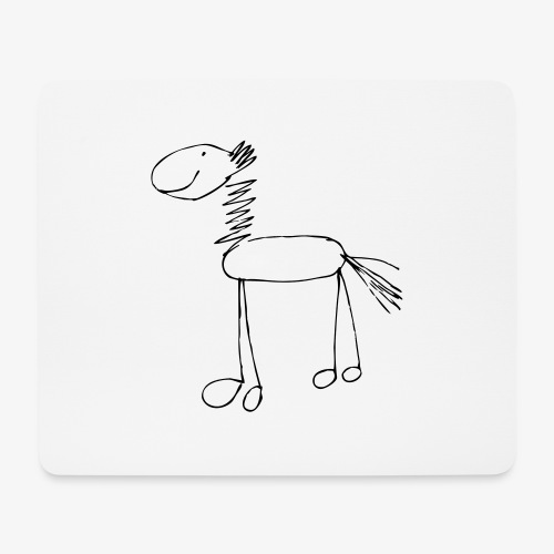 horse1 - Podkładka pod myszkę (orientacja pozioma)
