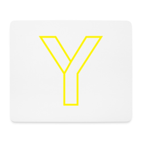 ChangeMy.Company Y Yellow - Mousepad (Querformat)